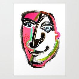 Meet Me Half Way Art Print