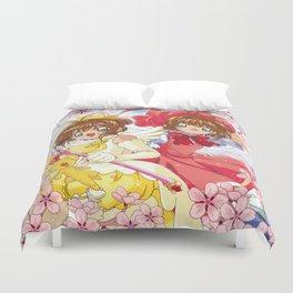 Double Sakura Duvet Cover
