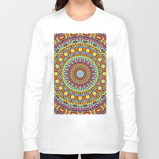 Kaleidoscope Candy Long Sleeve T-shirt
