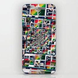 Computer Disks Pop Art iPhone Skin