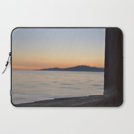 just beyond the ledge Laptop Sleeve