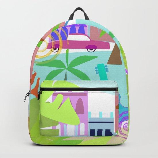 Cuban Holiday Backpack