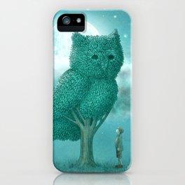 The Night Gardener iPhone Case