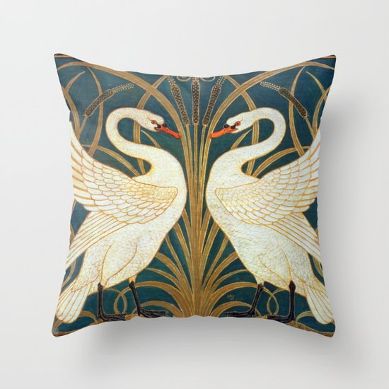 Walter Crane Swan, Rush And Iris by artgallery