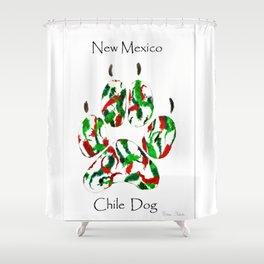 BARBARA CHICHESTER GENUINE ORIGINAL New Mexico Chile Dog DESIGNS Shower Curtain