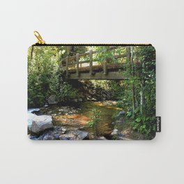 Bridge Over Fall Creek at Vallecito Carry-All Pouch