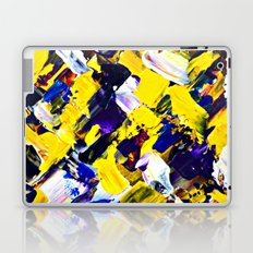 Yellow Intersections Laptop & iPad Skin