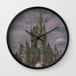 Over Cast Wall Clock