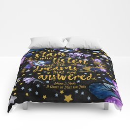 A Court of Mist and Fury - To The Stars Comforters
