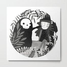 Our skeleton love Metal Print