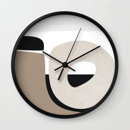 Shape Study #40 - Stone Wall Clock