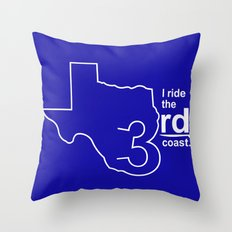TX 3rd Coast Throw Pillow