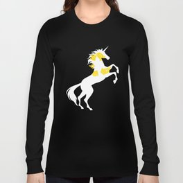 Recycle Symbol Unicorn Recycling Magical Unicorn Long Sleeve T-shirt