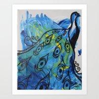 Peacock #27 Art Print