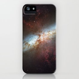1709. M82: Galaxy with a Supergalactic Wind  iPhone Case