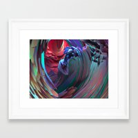 surf Framed Art Prints featuring Surf by Choerte