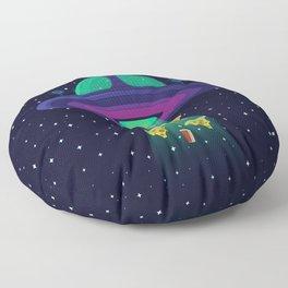 Alien Munchies Floor Pillow