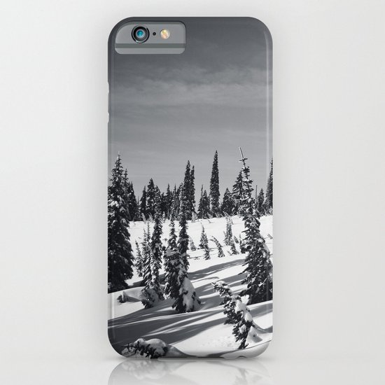 snow-covered iPhone & iPod Case