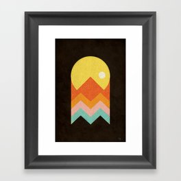 Amazeing Sunset Framed Art Print