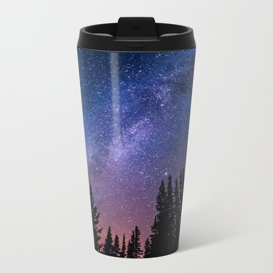 colourful universe Metal Travel Mug