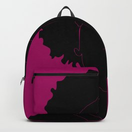 red-violet Backpack