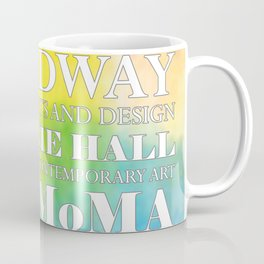 New York City arts - white Coffee Mug
