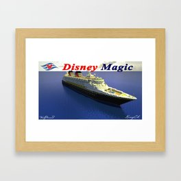 Minecraft - Operation Infinite Ocean - Disney Magic Framed Art Print