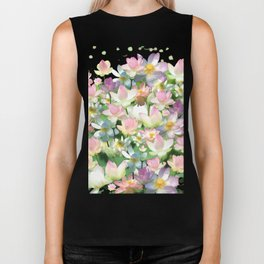 Lotus bloom Biker Tank