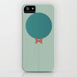 Papillon Hipster Baloon iPhone Case