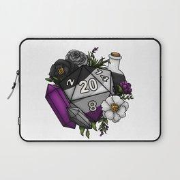 Pride Asexual D20 Tabletop RPG Gaming Dice Laptop Sleeve