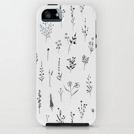 Wildflowers iPhone Case