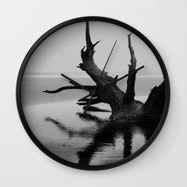 Bull Island Boneyard - Charleston, South Carolina Wall Clock