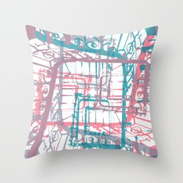 Take the stairs! Throw Pillow