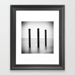 3hree Framed Art Print