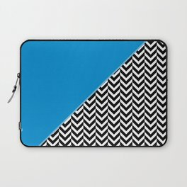 Chevron and Blue Laptop Sleeve