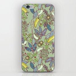 go green in spring iPhone Skin