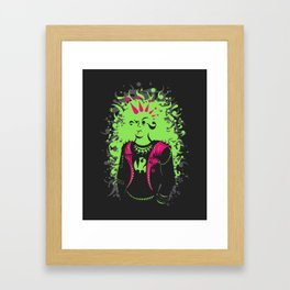 Punktuation! Framed Art Print