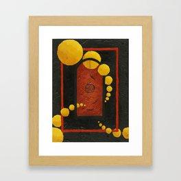 The Catcher. Framed Art Print