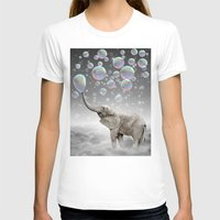 gray T-shirts featuring The Simple Things Are the Most Extraordinary (Elephant-Size Dreams) by soaring anchor designs