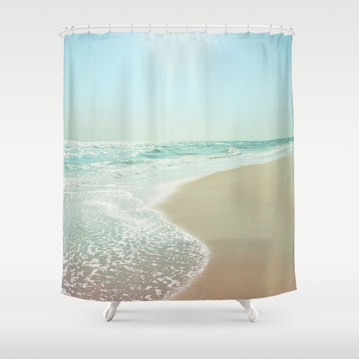 Good Morning Beautiful Sea Shower Curtain By Bellabluephotography