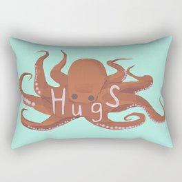 Octopus Hugs Rectangular Pillow