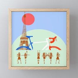 Le tour Framed Mini Art Print