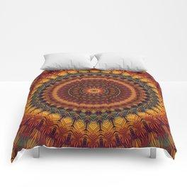 Mandala 299 Comforters