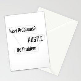 New Problems, No Problem - HUSTLE Stationery Cards