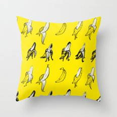 bananana Throw Pillow