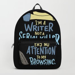 Funny Writing Gift - Storyteller Pay No Attenton Backpack