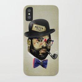 MISTER TEA iPhone Case