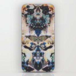Rorschach Flowers 8 iPhone Skin