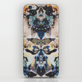 Rorschach Flowers 8 iPhone Skin