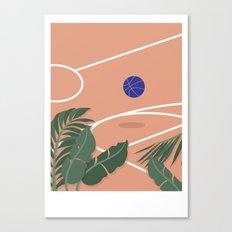 Basketball Breeze Canvas Print